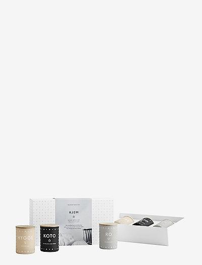 HJEM Mini Candle Set - NO COLOUR