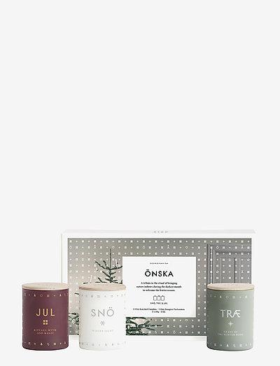 ÖNSKA Mini Candle Set - duft - no colour