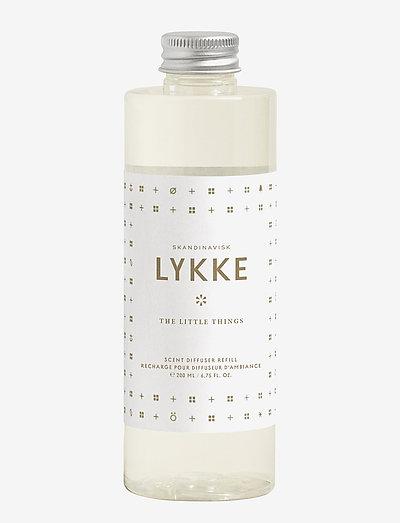 LYKKE Diffuser Refill - dufte - white/gold