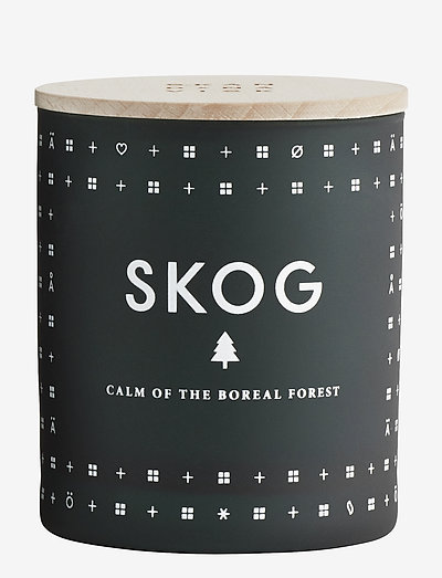 SKOG Scented Candle - huonetuoksut - forest green