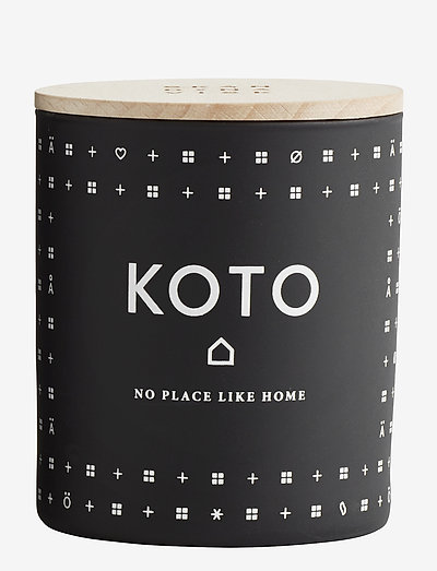 KOTO Scented Candle - BLACK
