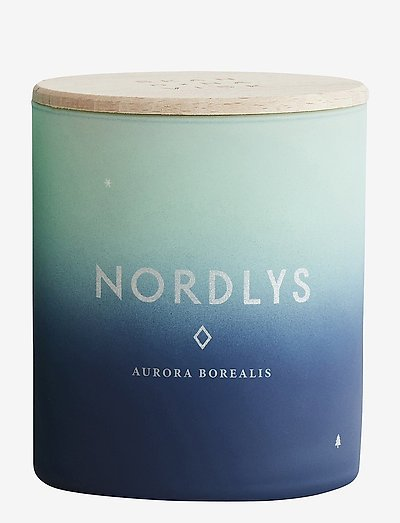NORDLYS Scented Candle - BLUE/GREEN