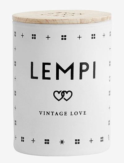 LEMPI Mini Scented Candle - WHITE/BLACK