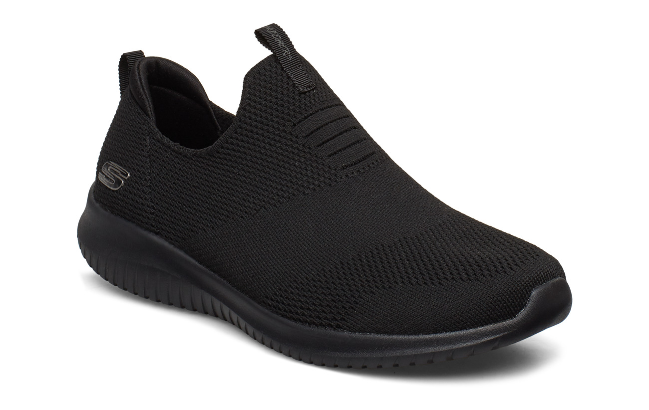 Skechers Womens Ultra Flex - BBK BLACK