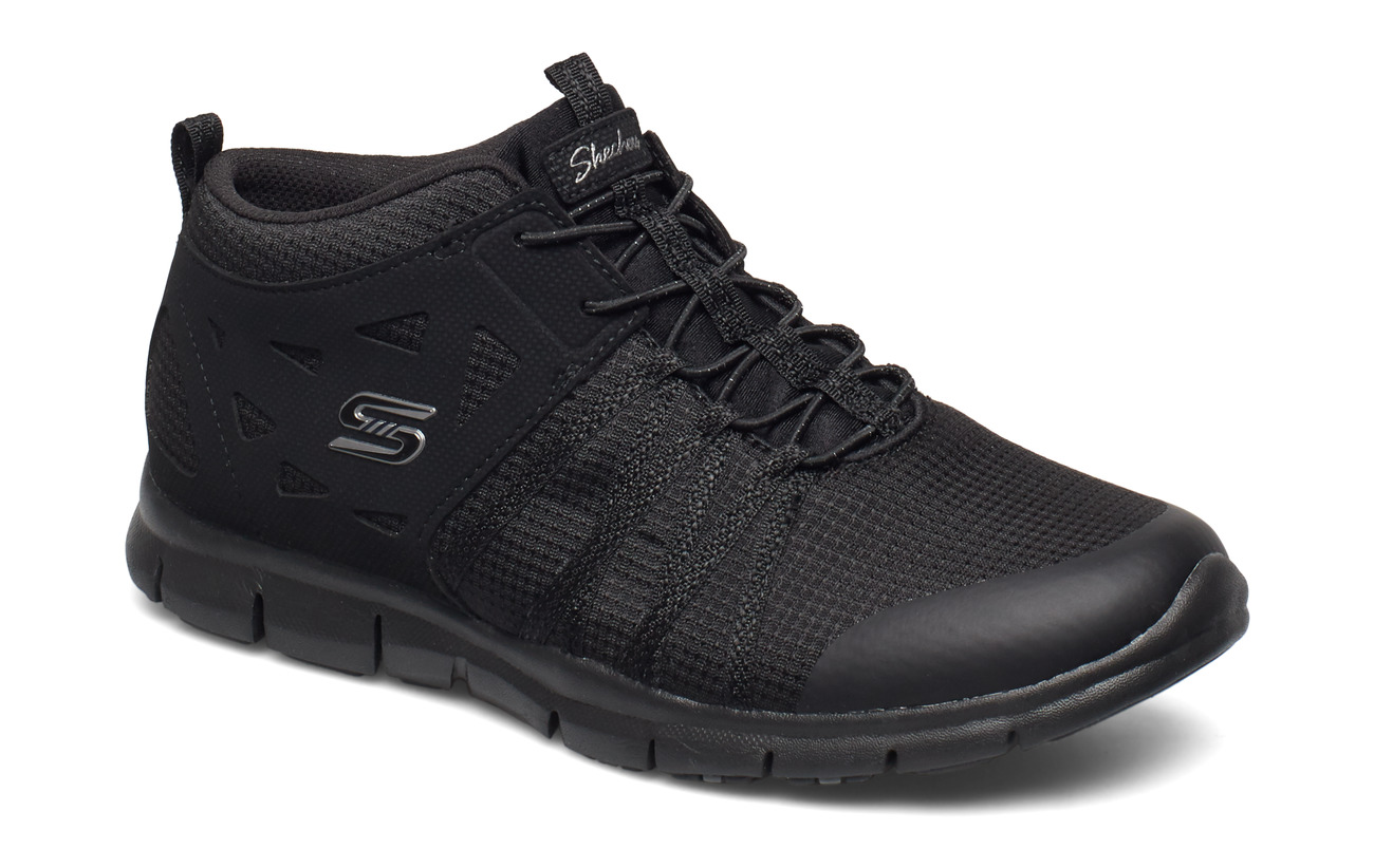 Skechers Womens Gratis - BBK BLACK