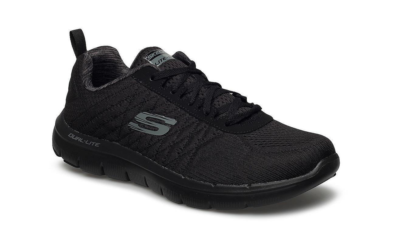 Skechers Mens Flex Advantage 2.0 - The Happs - BBK BLACK