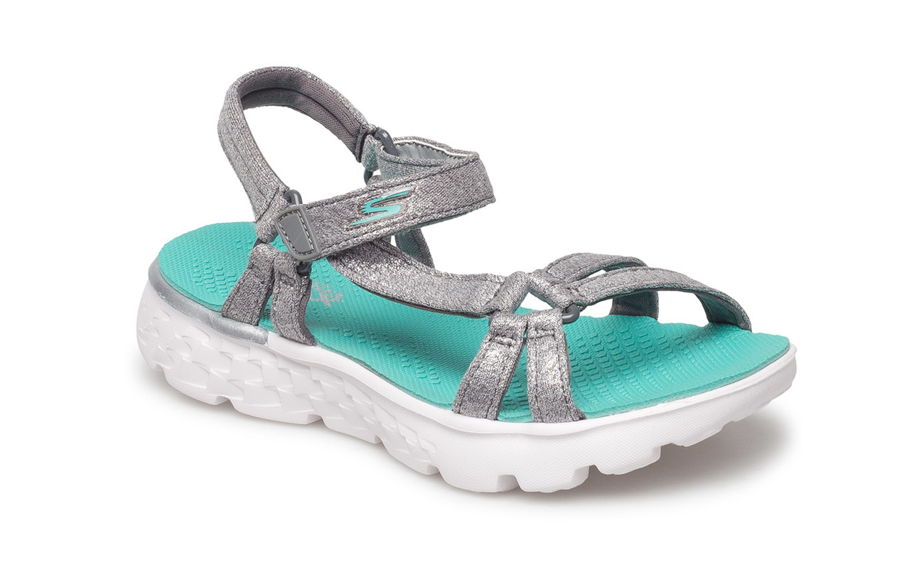 Skechers Girls On-The-Go 400 - GYTQ GREY TURQUOISE