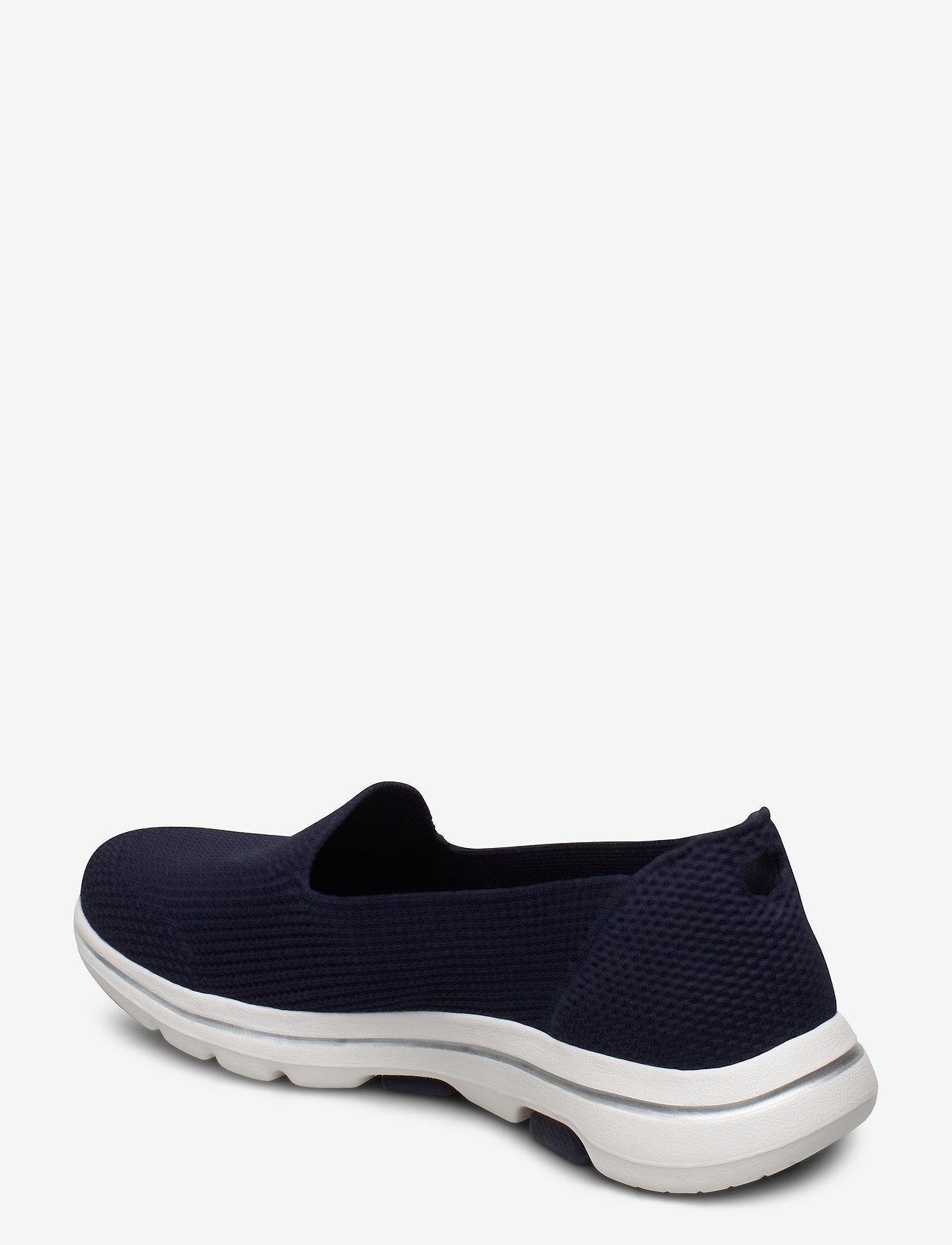 Womens Go Walk 5 (Nvw Navy White) - Skechers