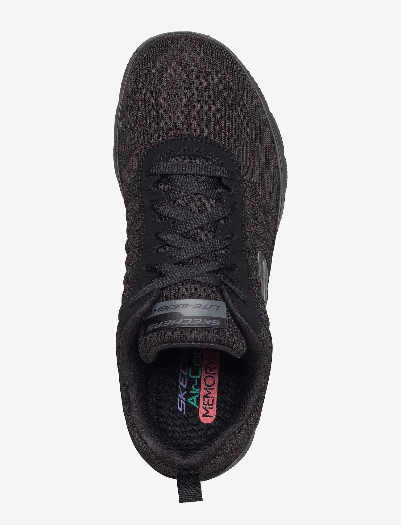 Skechers Womens Flex Appeal 2,0 Break Free - Sneakers Bbk Black