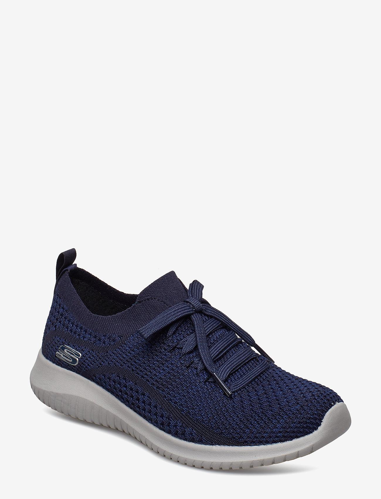 Skechers - Womens Ultra Flex - sneakers med lav ankel - nvy navy - 0