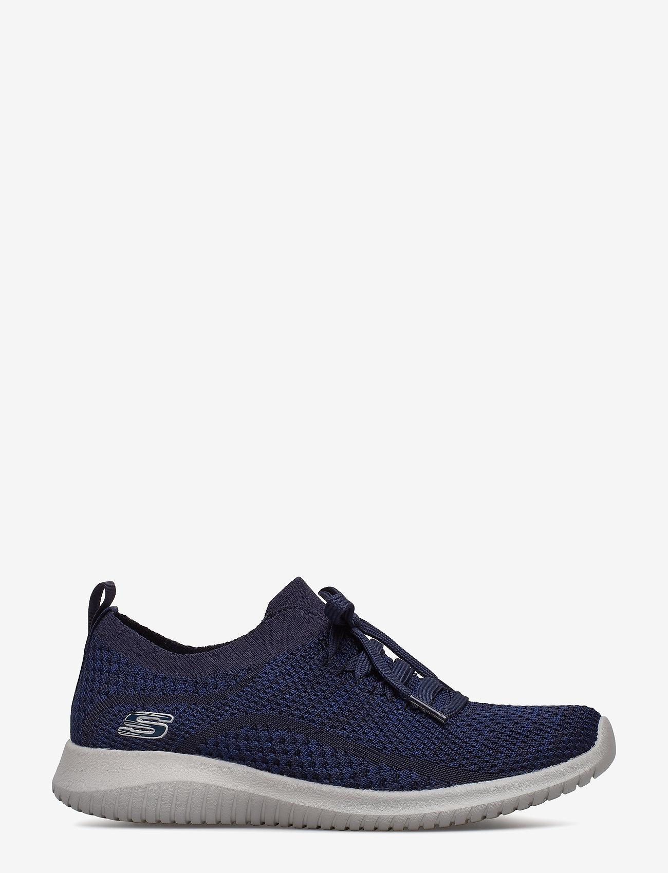 Skechers - Womens Ultra Flex - sneakers med lav ankel - nvy navy - 1