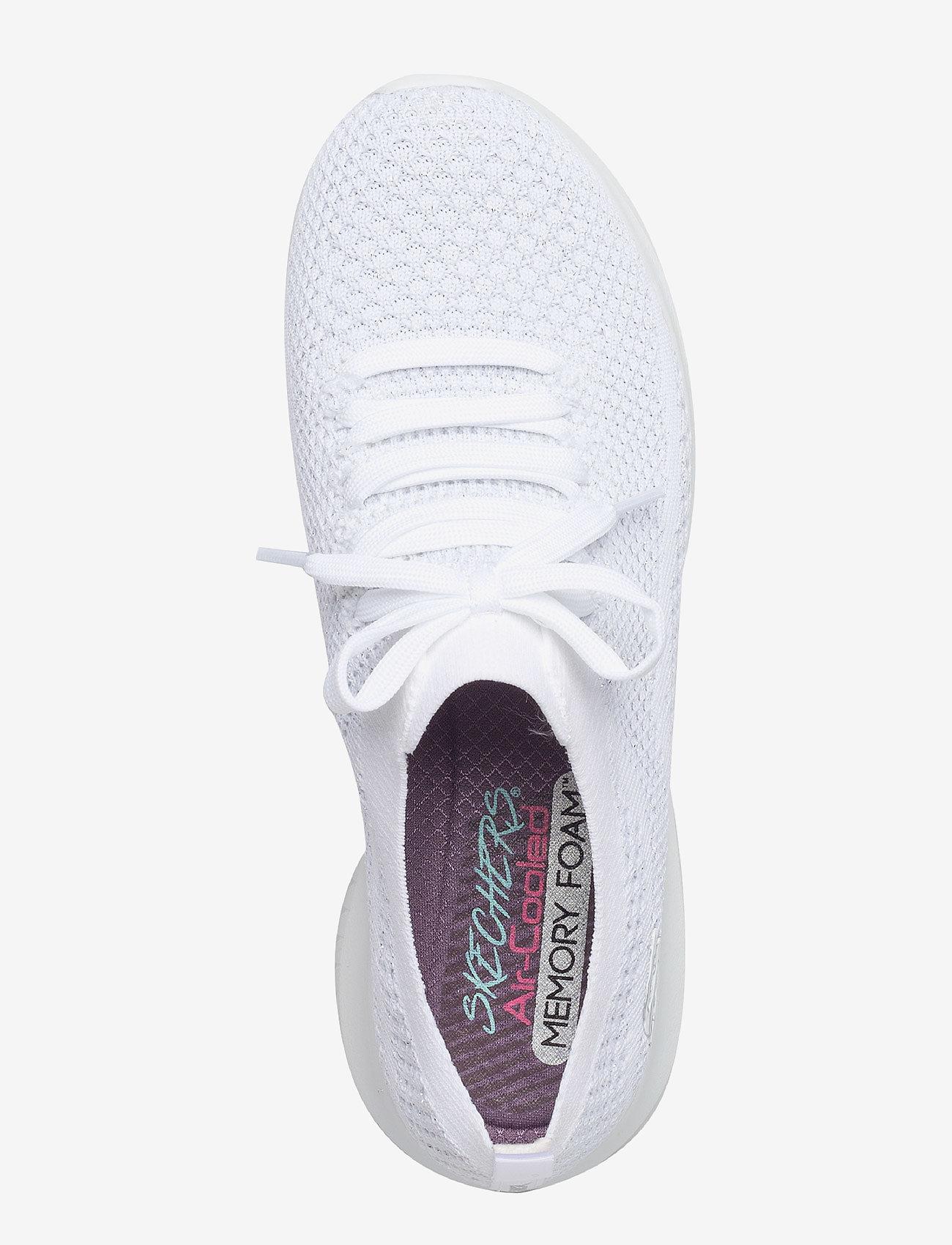 Womens Ultra Flex (Wsl White Silver) - Skechers