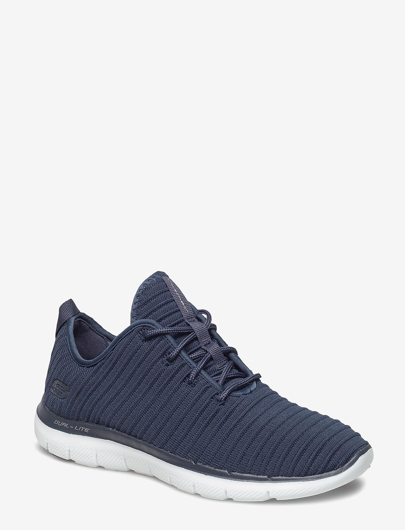 Skechers - Womens Flex Appeal 2.0 - Estates - sneakers med lav ankel - nvy navy - 0