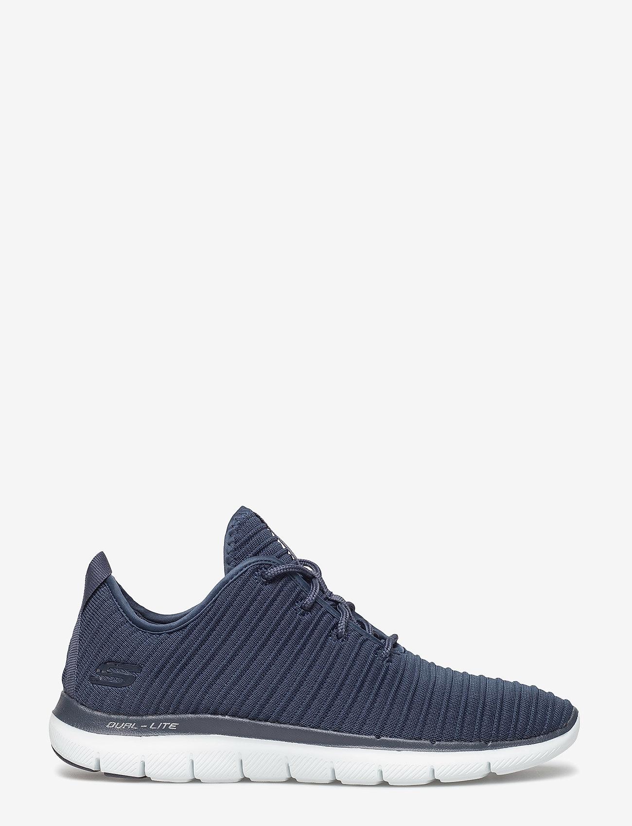 Skechers - Womens Flex Appeal 2.0 - Estates - sneakers med lav ankel - nvy navy - 1