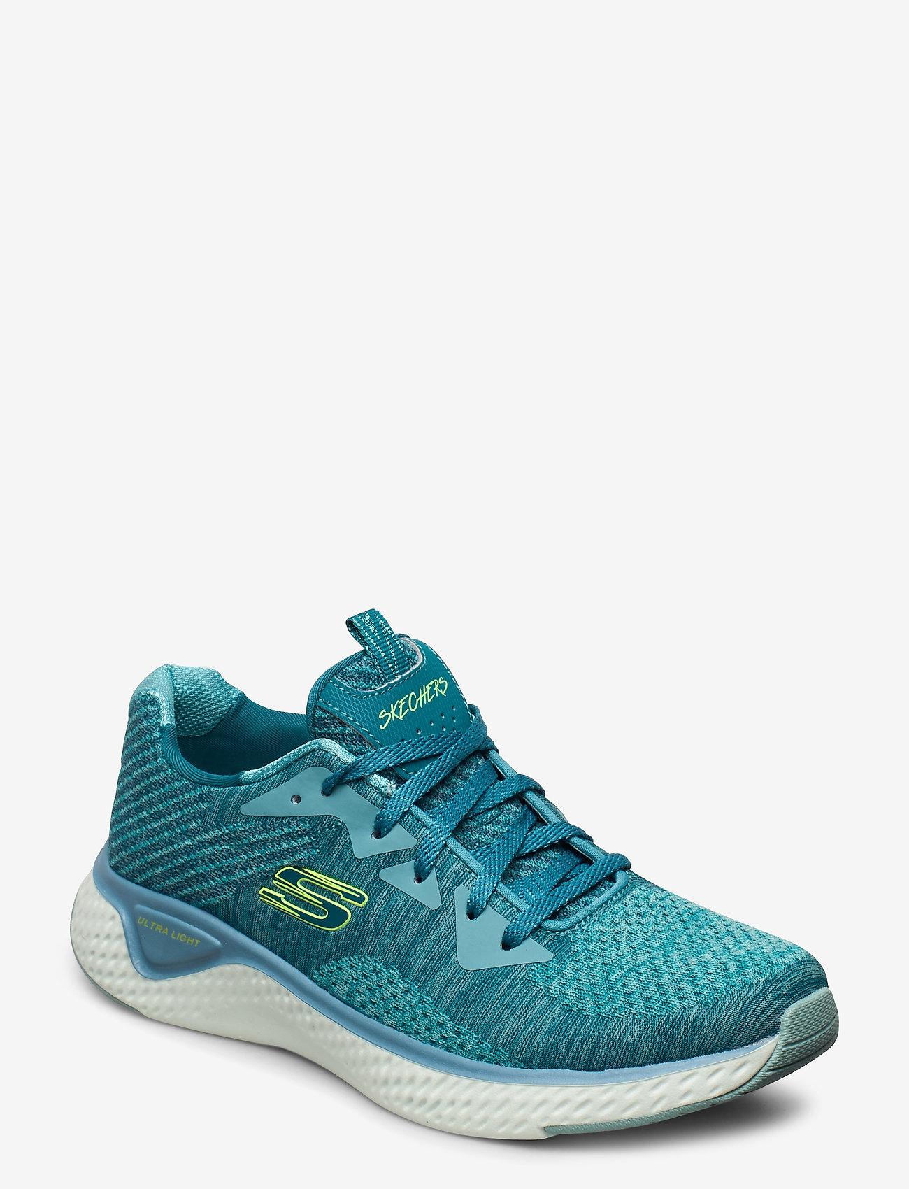 Skechers - Womens Solar Fuse - Brisk Escape - låga sneakers - blu blue - 0