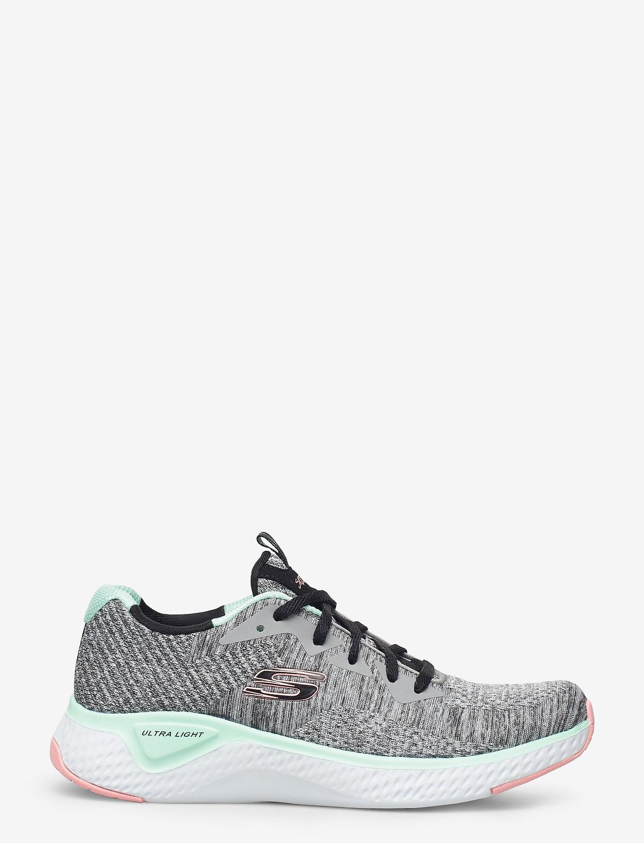 Skechers - Womens Solar Fuse - Brisk Escape - låga sneakers - gymt grey multicolor - 1