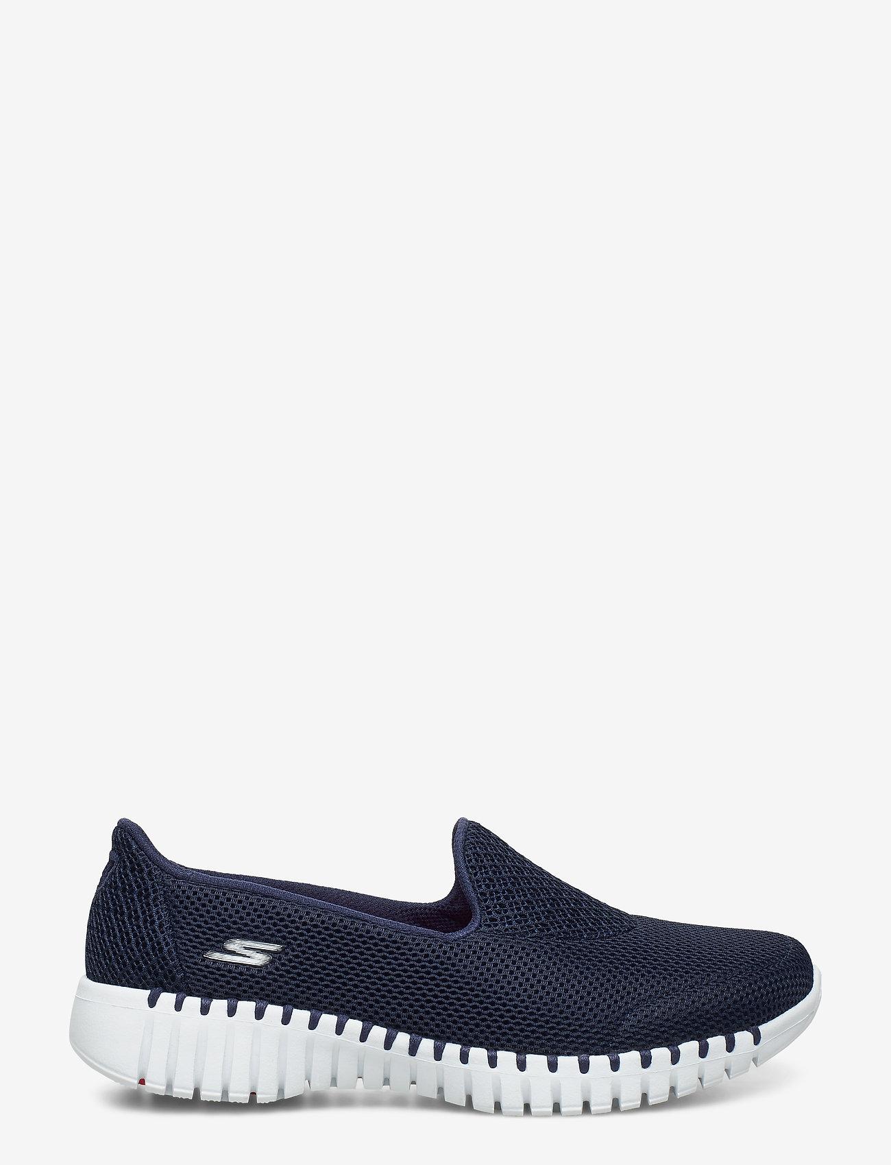 Skechers - Womens Go Walk Smart - slipper - nvw navy white - 1