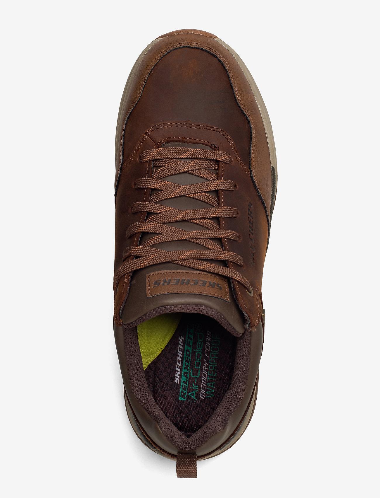 Mens Benago (Cdb Dark Brown) - Skechers