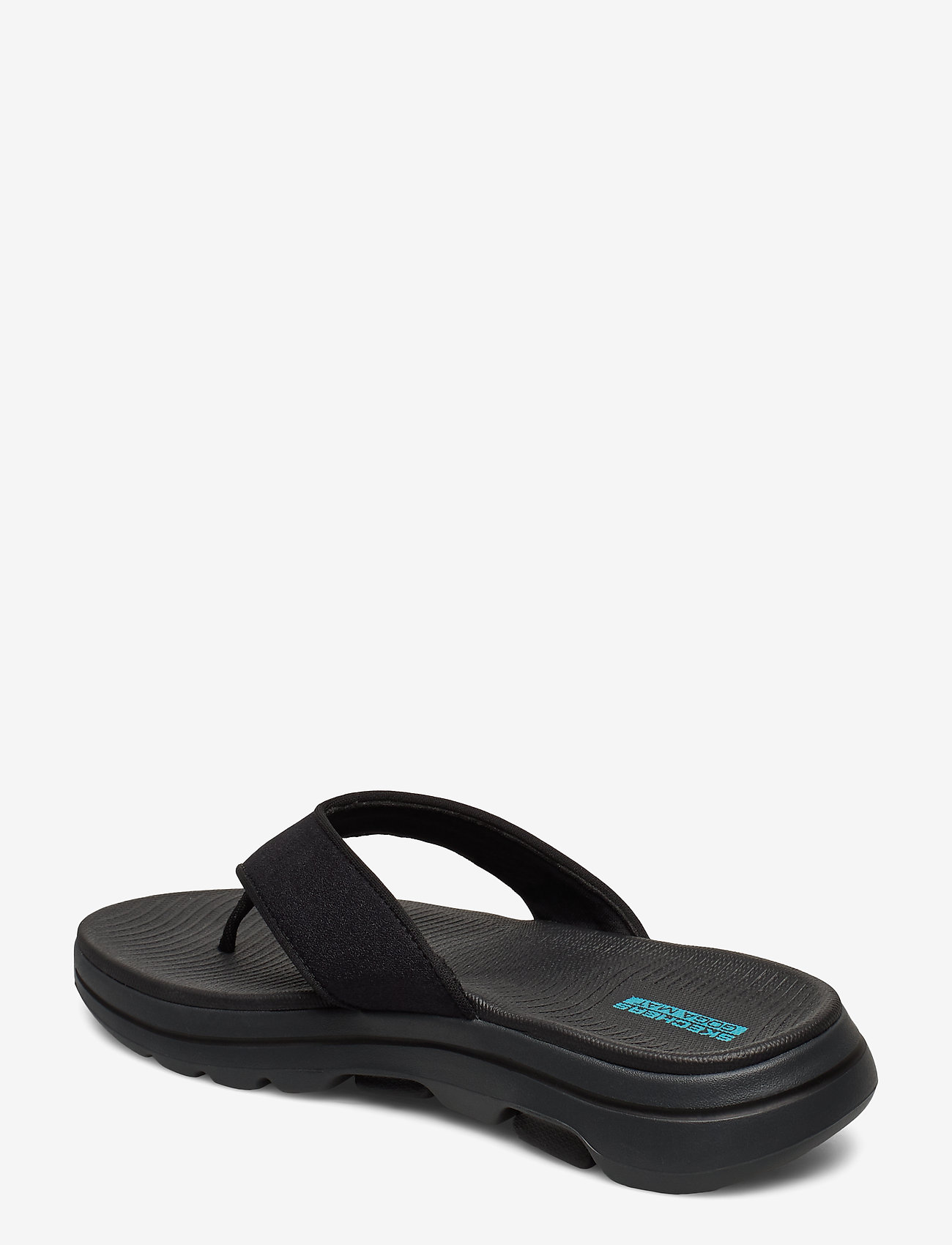 Skechers Mens Go Walk 5 - Sandaler Bkgy Black Grey
