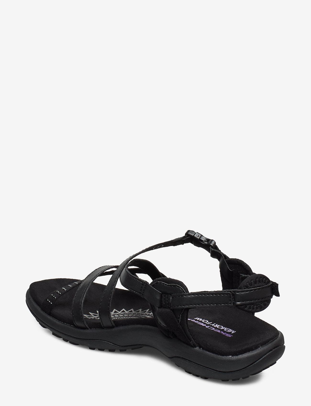 Womens Sandal - Reggae Slim (Bbk Black) - Skechers