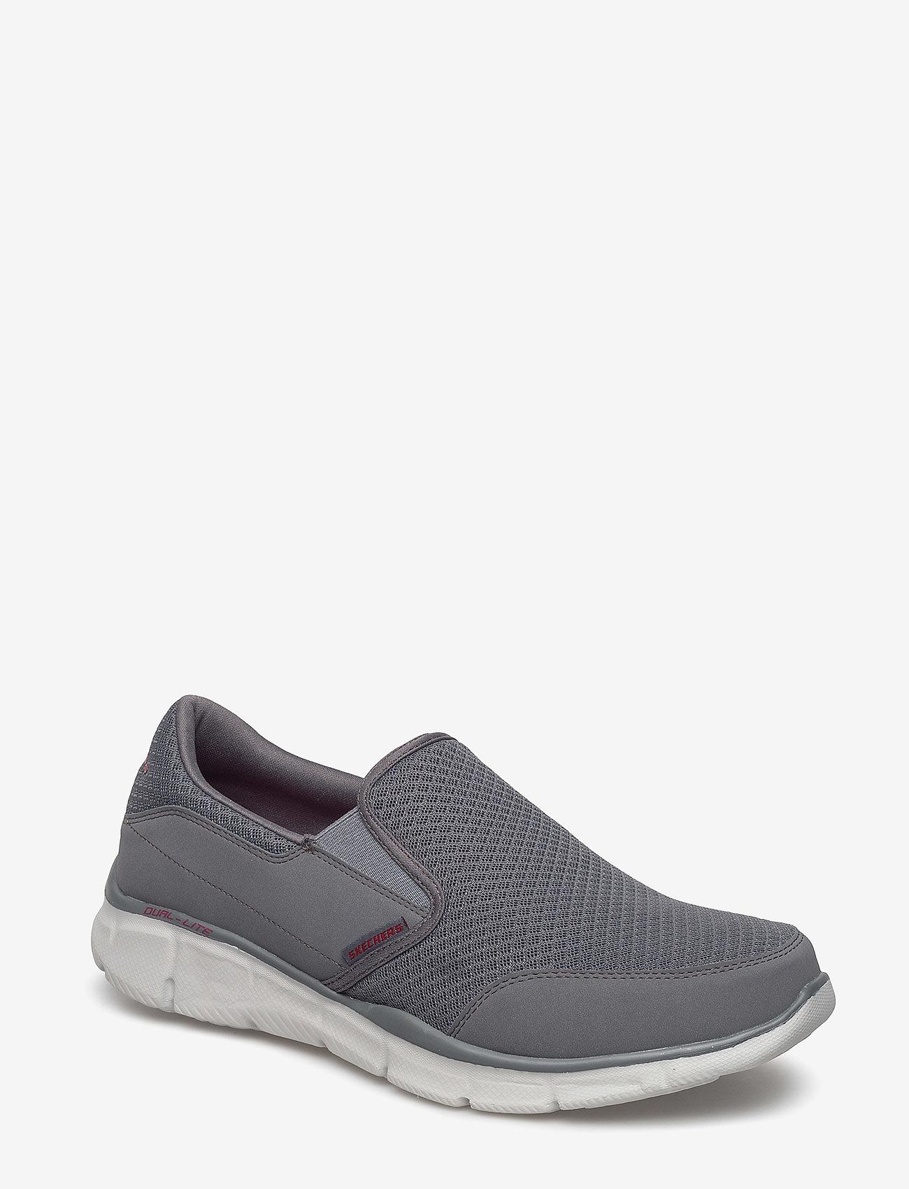 Skechers - Mens Equalizer Persistent - sportiska stila apavi bez aizdares - char charcoal - 0