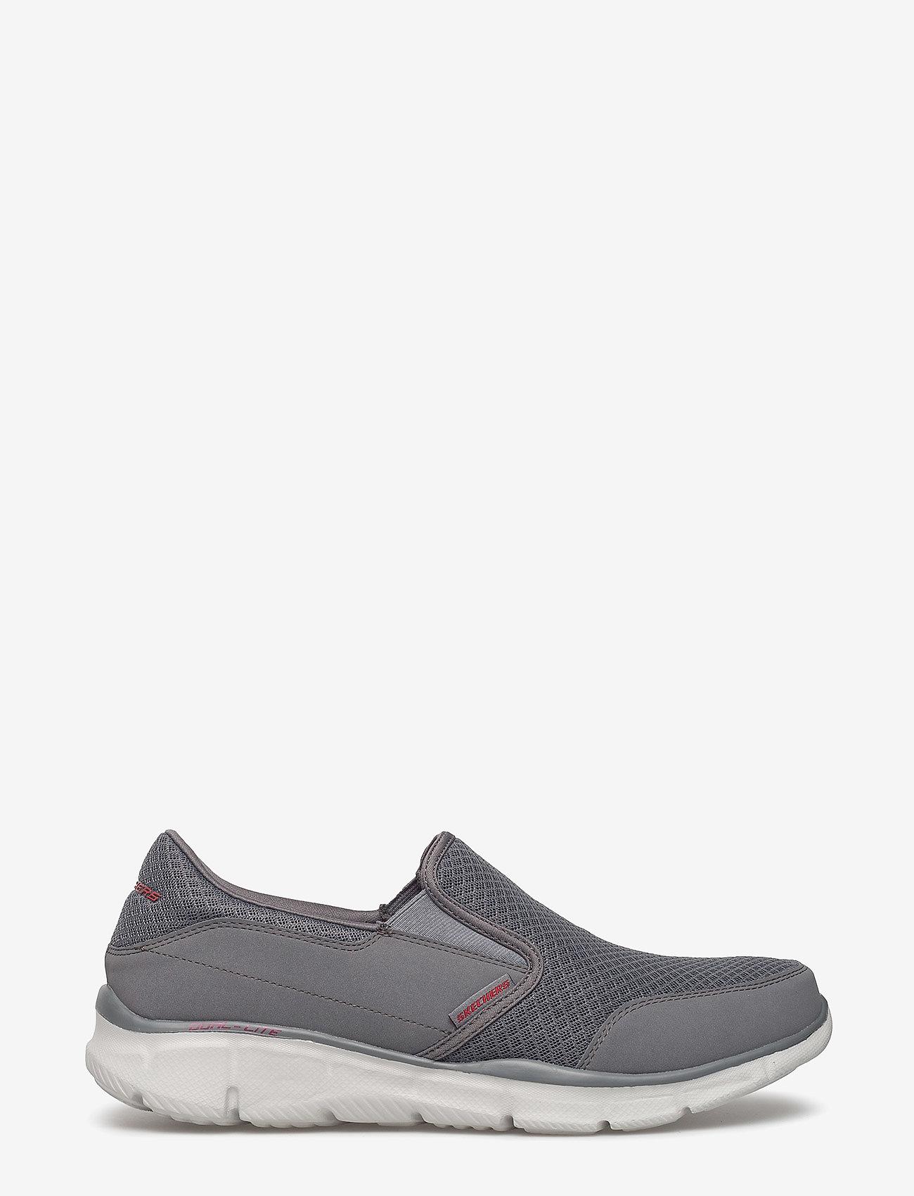 Skechers - Mens Equalizer Persistent - sportiska stila apavi bez aizdares - char charcoal - 1
