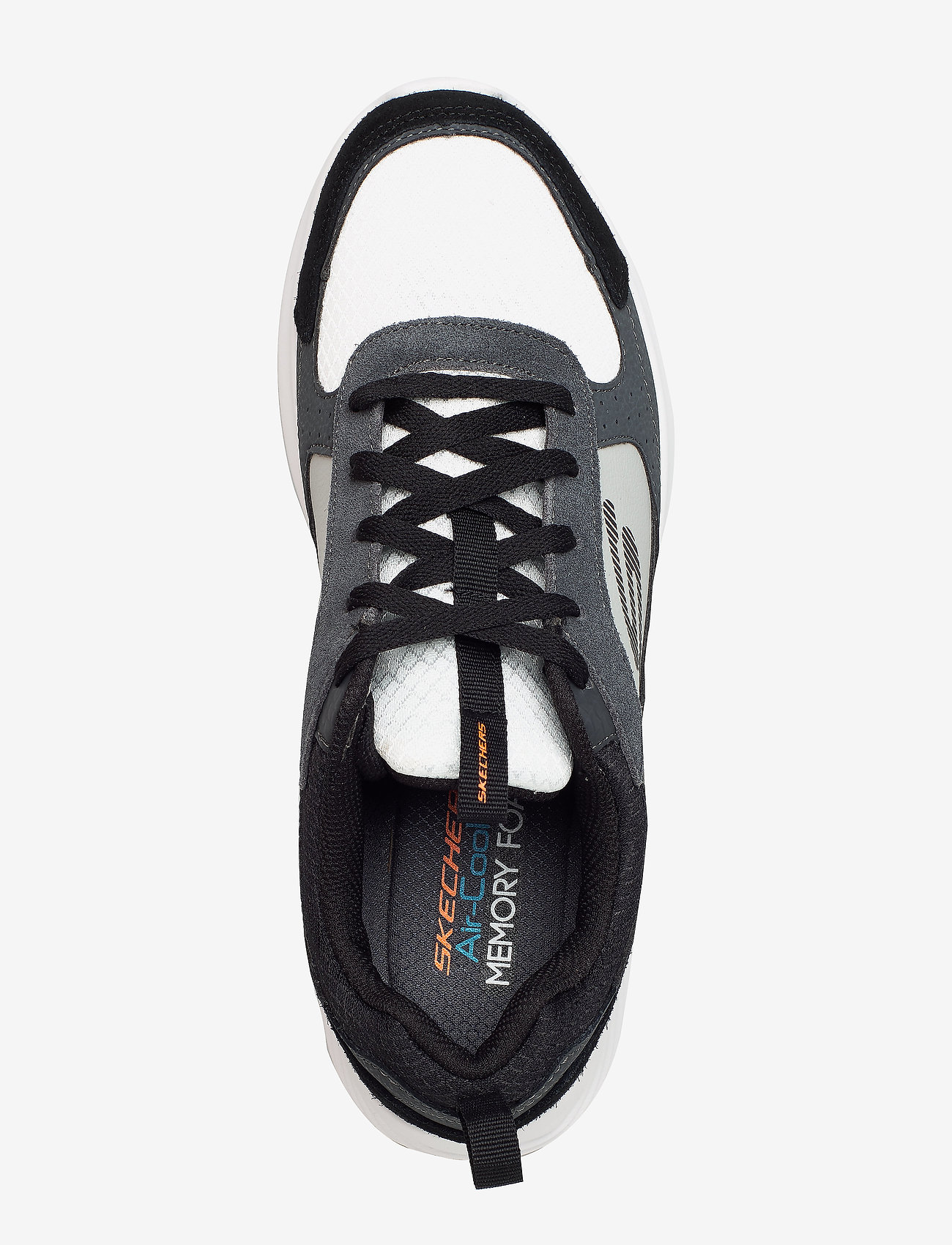 Mens Bounder (Ccbk Charcoal Black) - Skechers