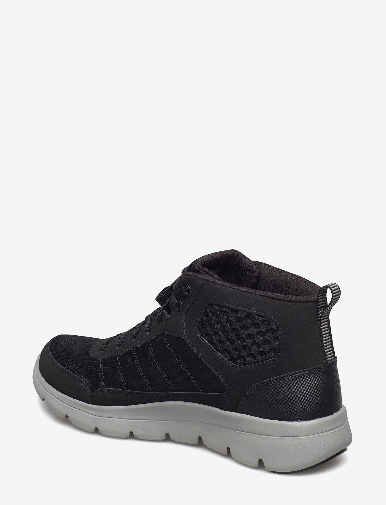 Mens Marauder Mushogee Waterproof (Bkgy Black Grey) - Skechers