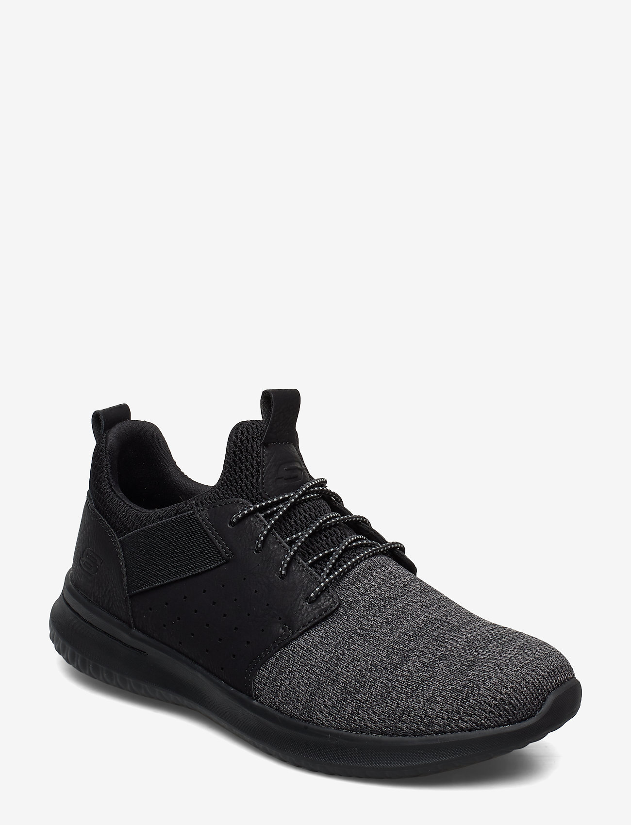 Skechers - Mens Delson - Camben - matalavartiset tennarit - bbk black - 0