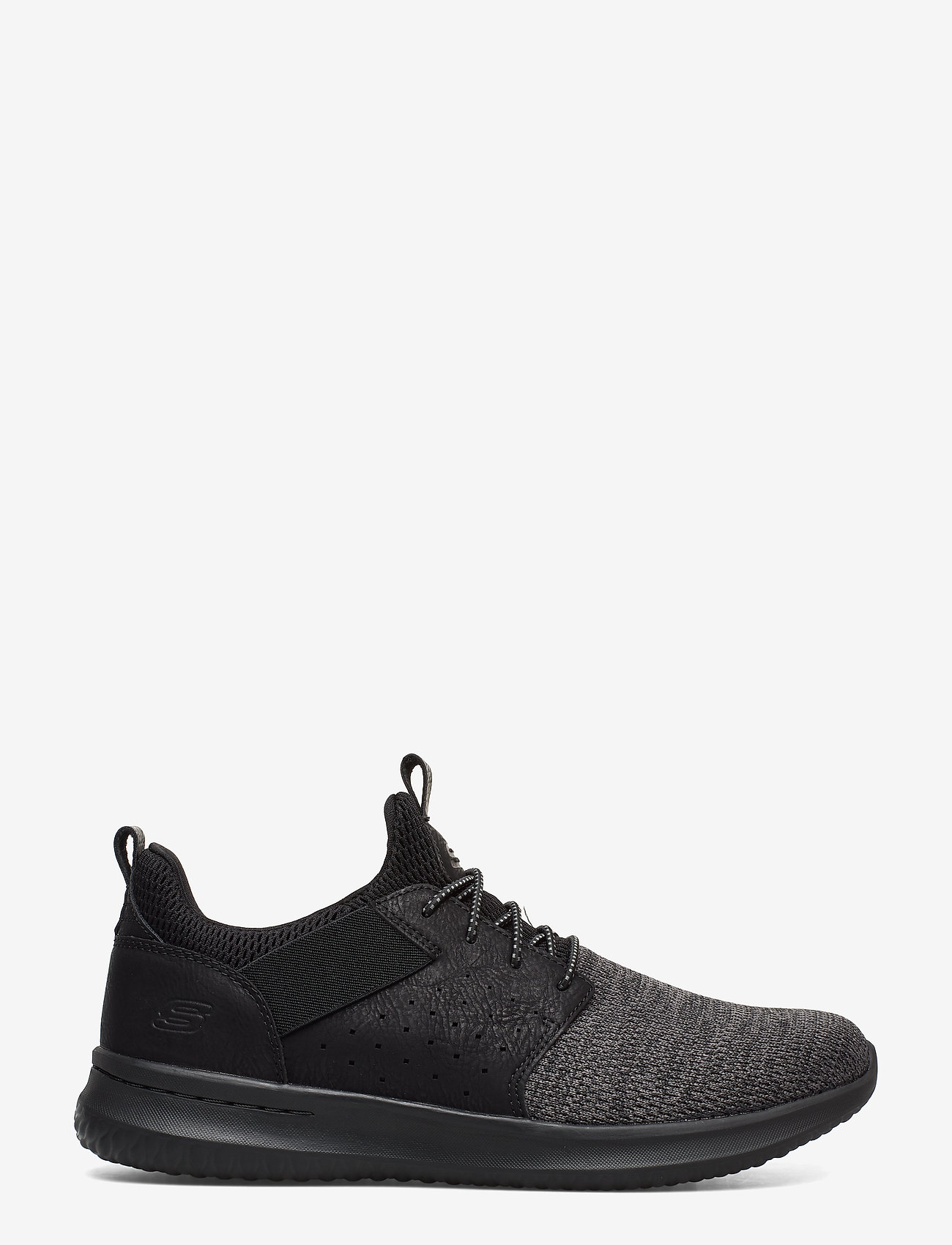 Skechers - Mens Delson - Camben - matalavartiset tennarit - bbk black - 1