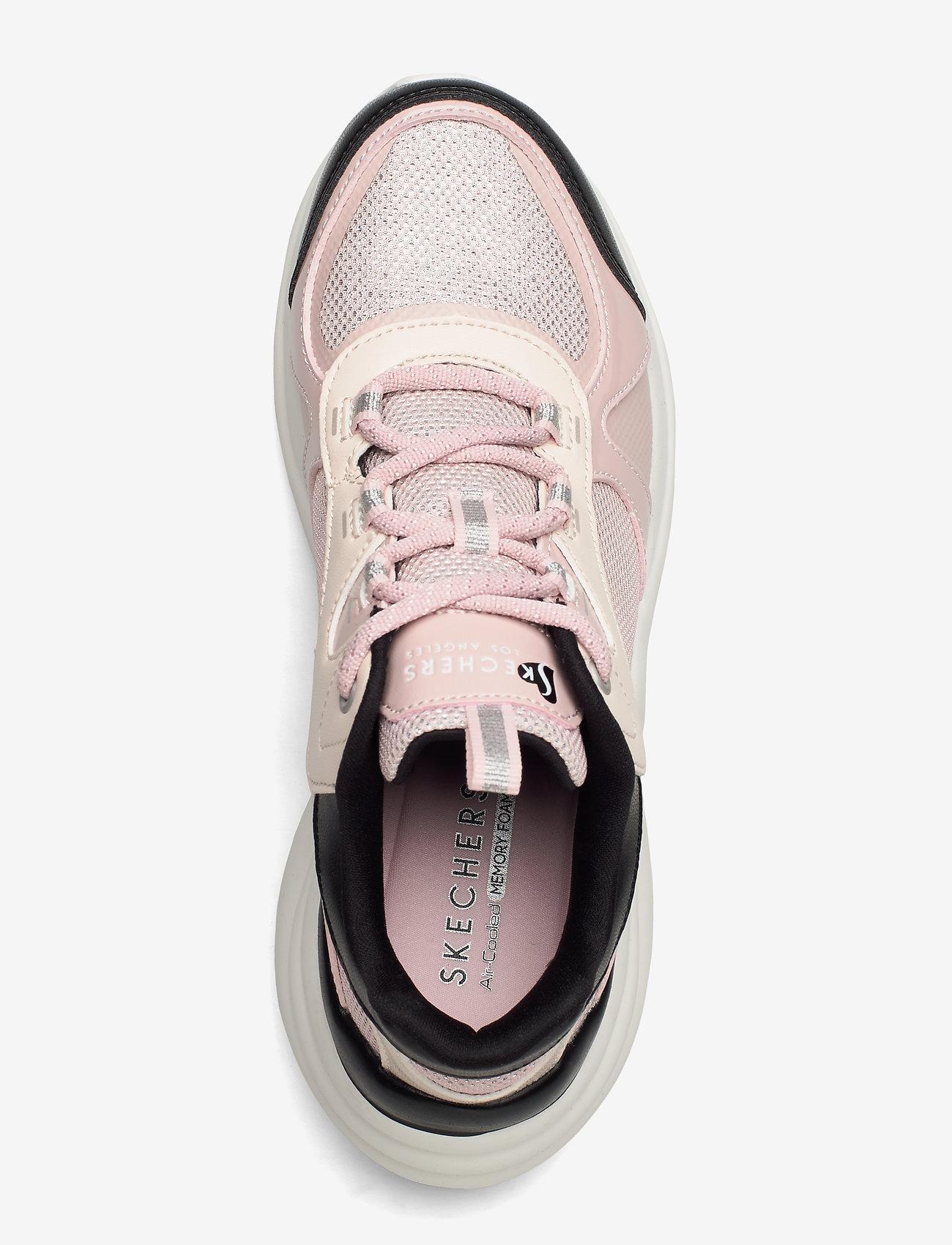 Womens Solei St. - Groovilicious (Pkbk Pink Black) - Skechers