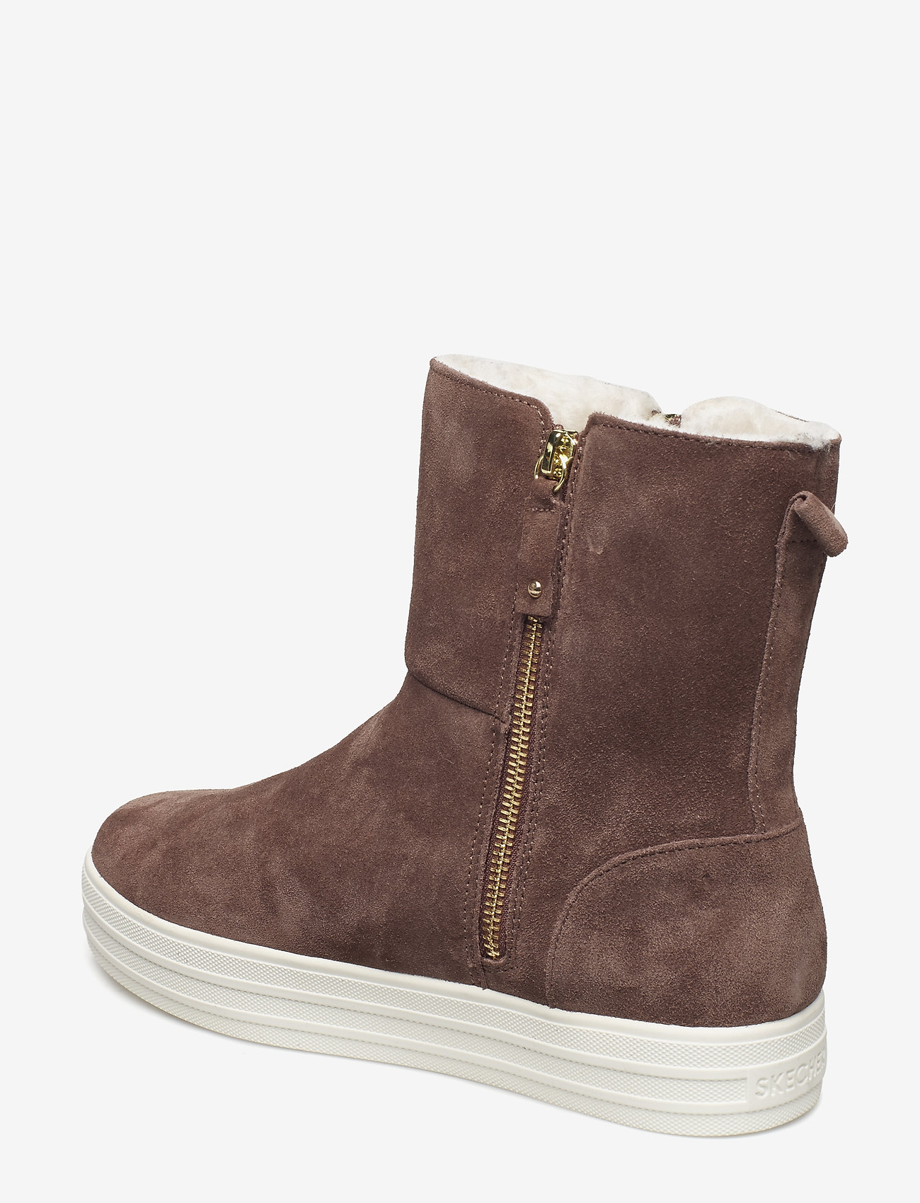 Womens Originals: Double Up - Fall In Line (Dktp Dark Taupe) - Skechers
