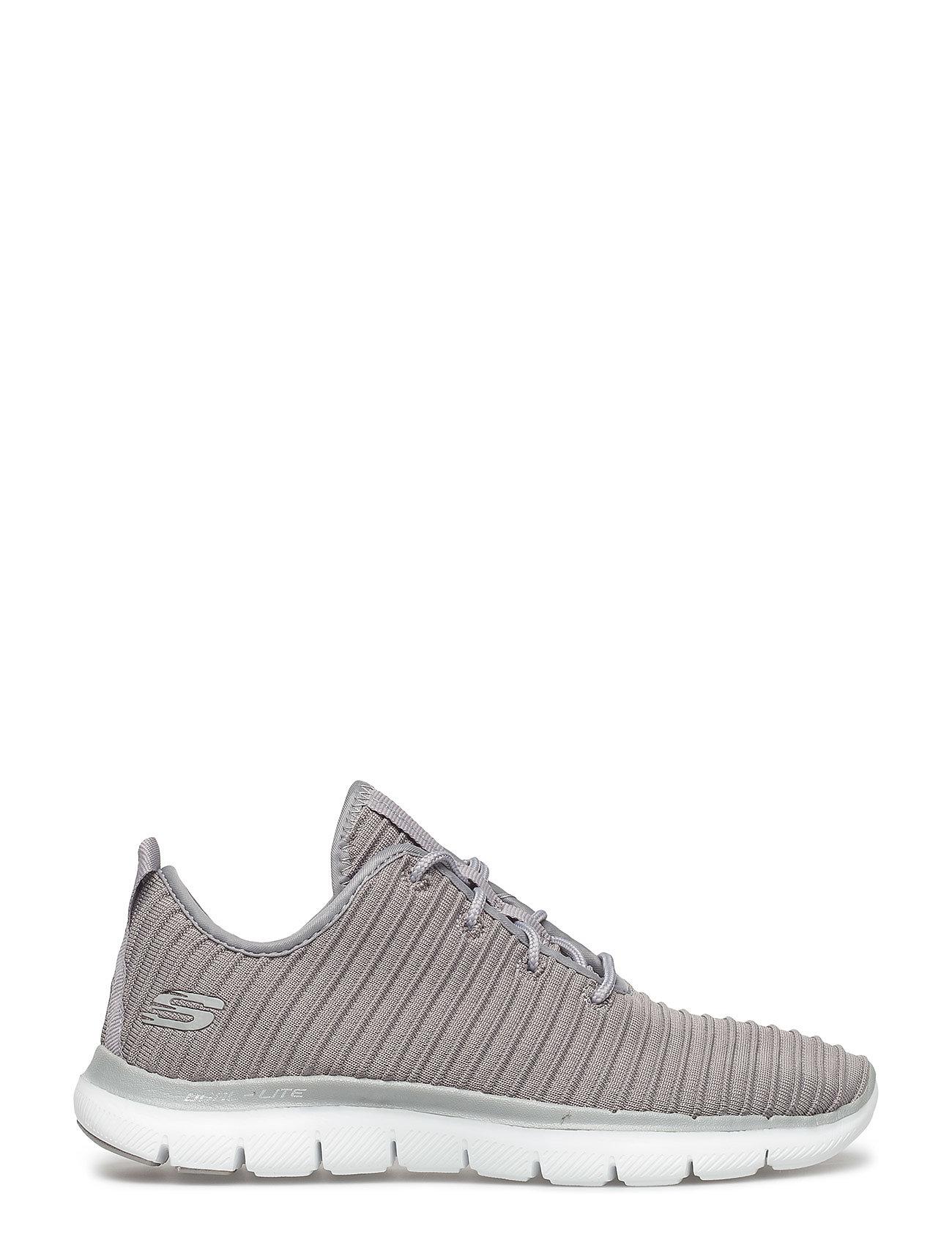 Womens Flex Appeal 2.0 - Estates Low-top Sneakers Grå Skechers