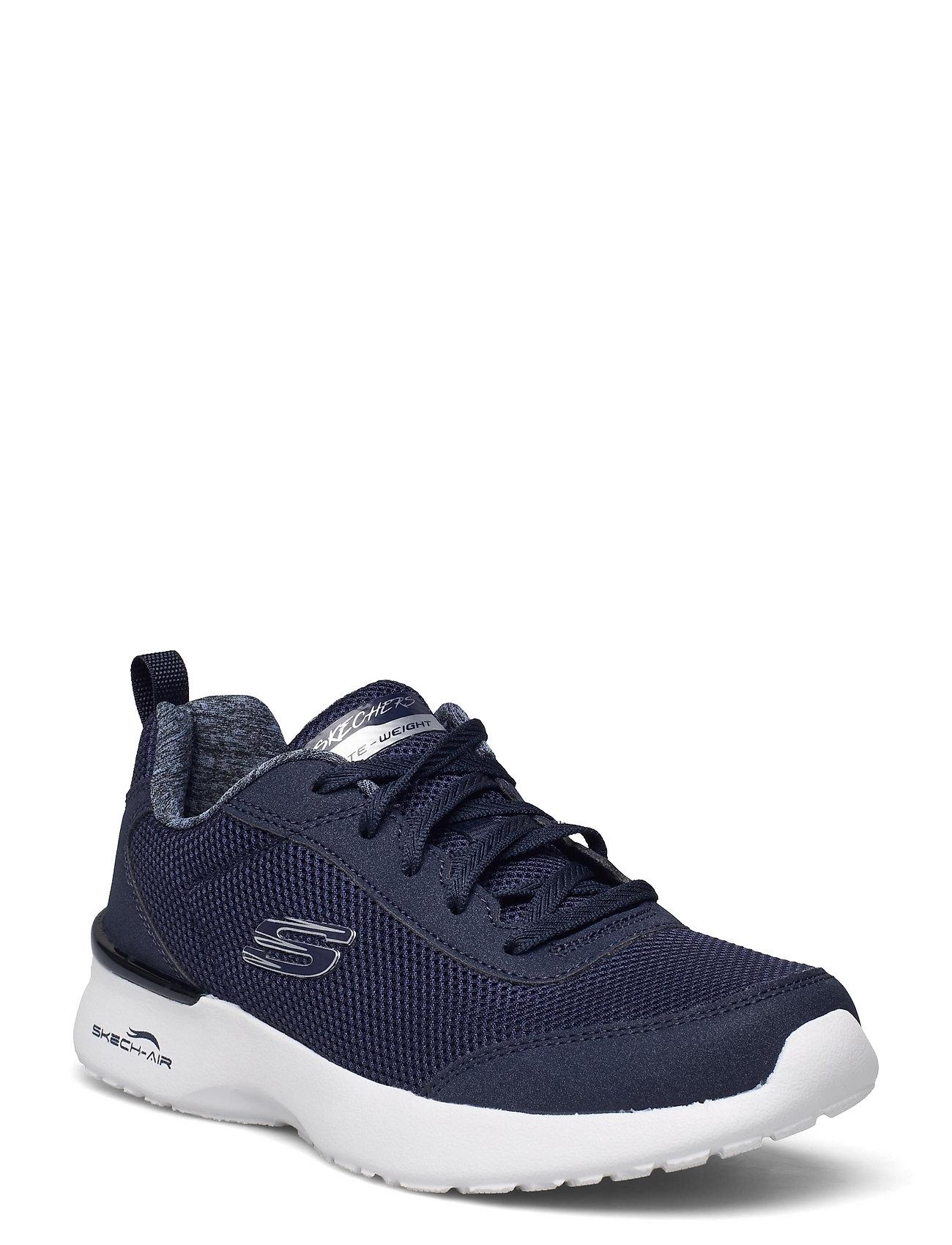 Womens Skech-Air Dynamight Low-top Sneakers Blå Skechers