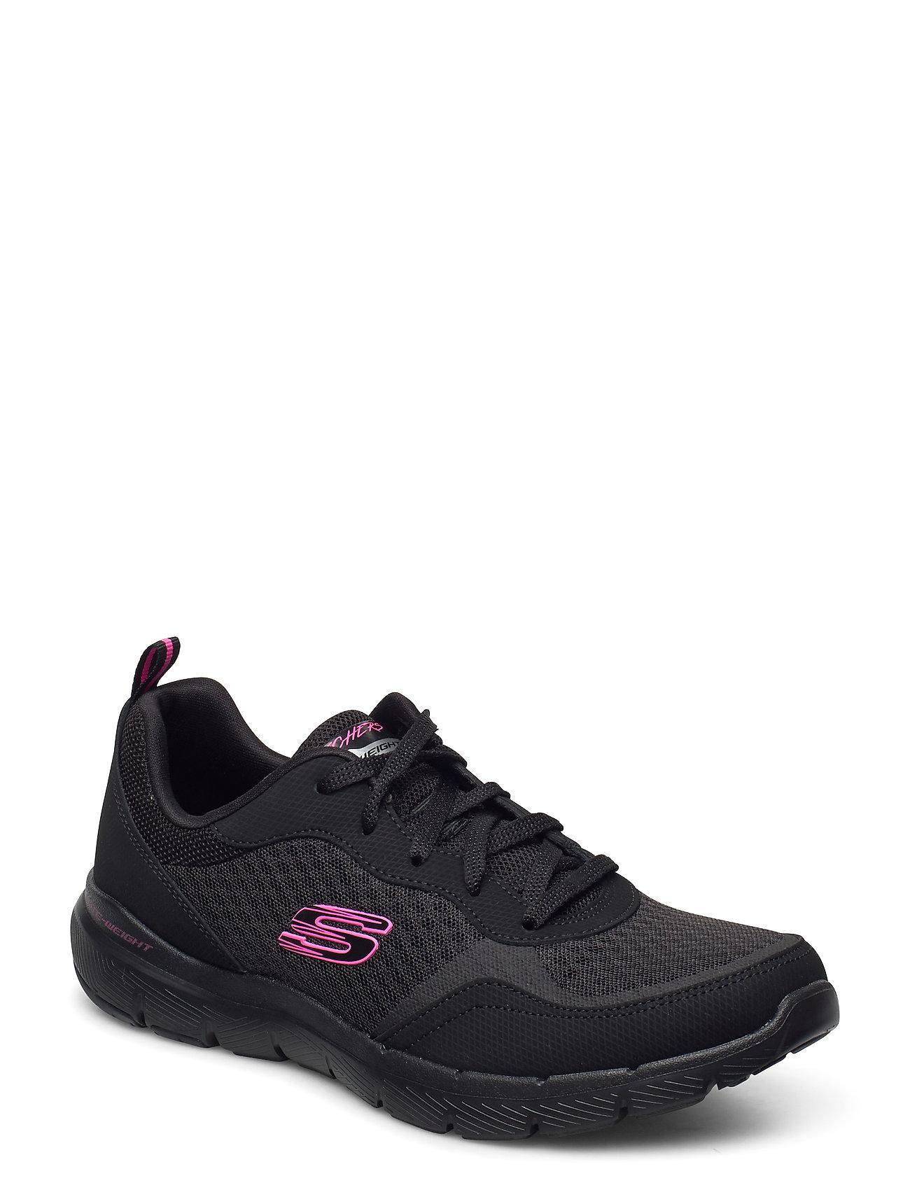 Womens Flex Appeal 3.0 - Go Forward Low-top Sneakers Sort Skechers