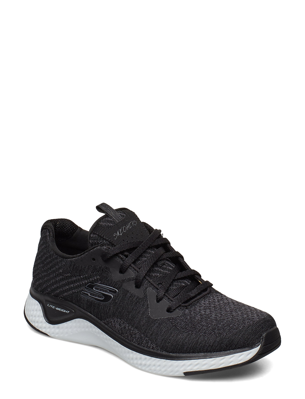 Image of Womens Solar Fuse - Brisk Escape Low-top Sneakers Sort Skechers (3428067039)