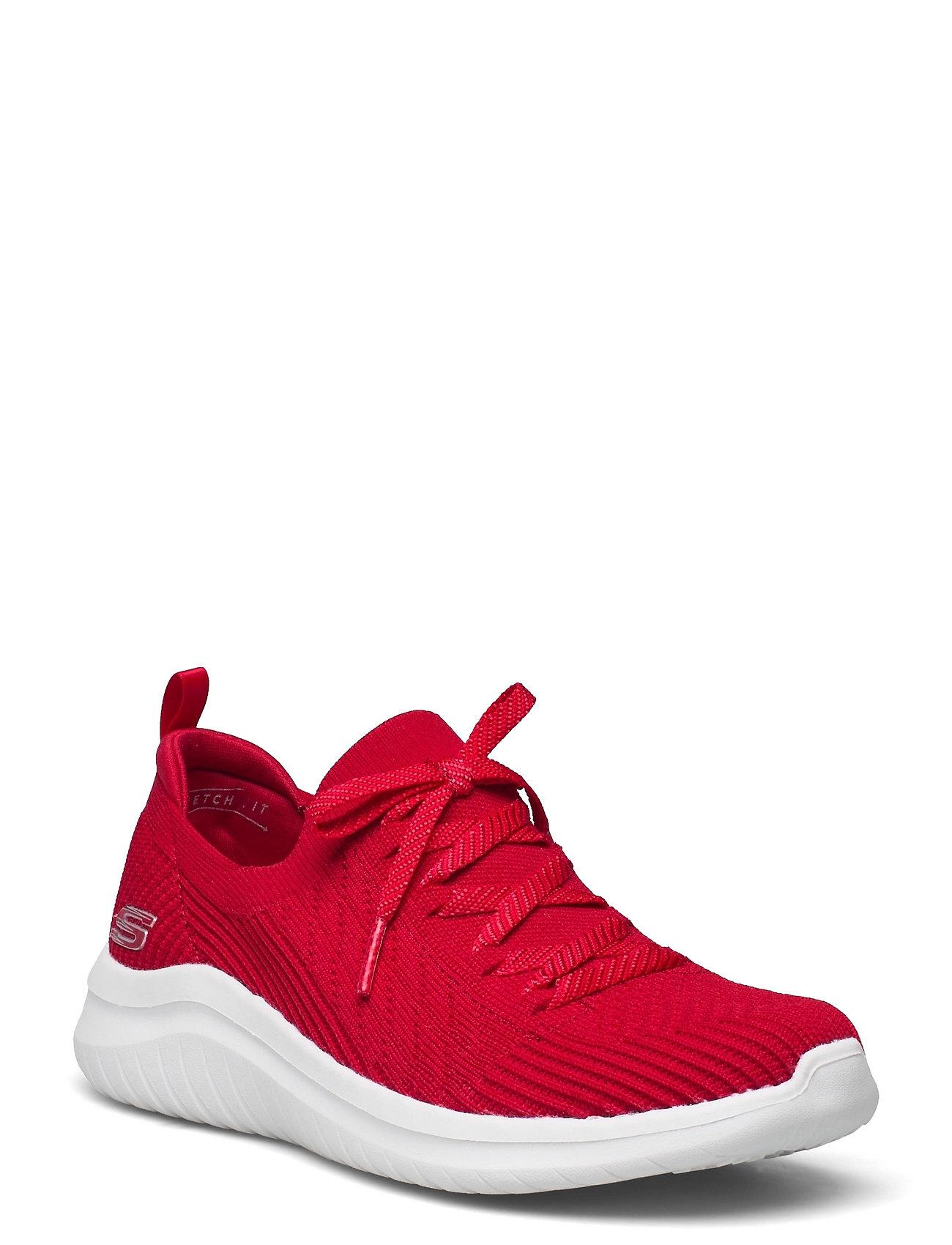 Womens Ultra Flex 2.0 - Flash Illusion Low-top Sneakers Rød Skechers