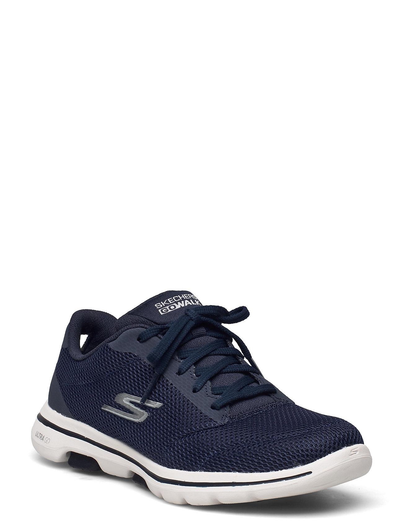 Womens Gowalk 5 - Lucky Low-top Sneakers Blå Skechers