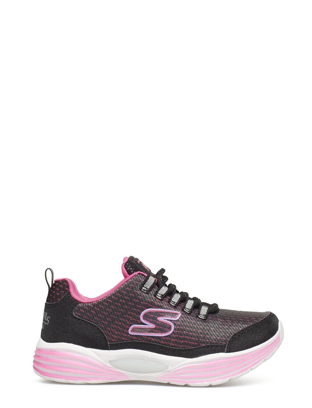 a972d453794 Girls Hidden Lights sneakers fra Skechers til børn i BKPK BLACK PINK ...