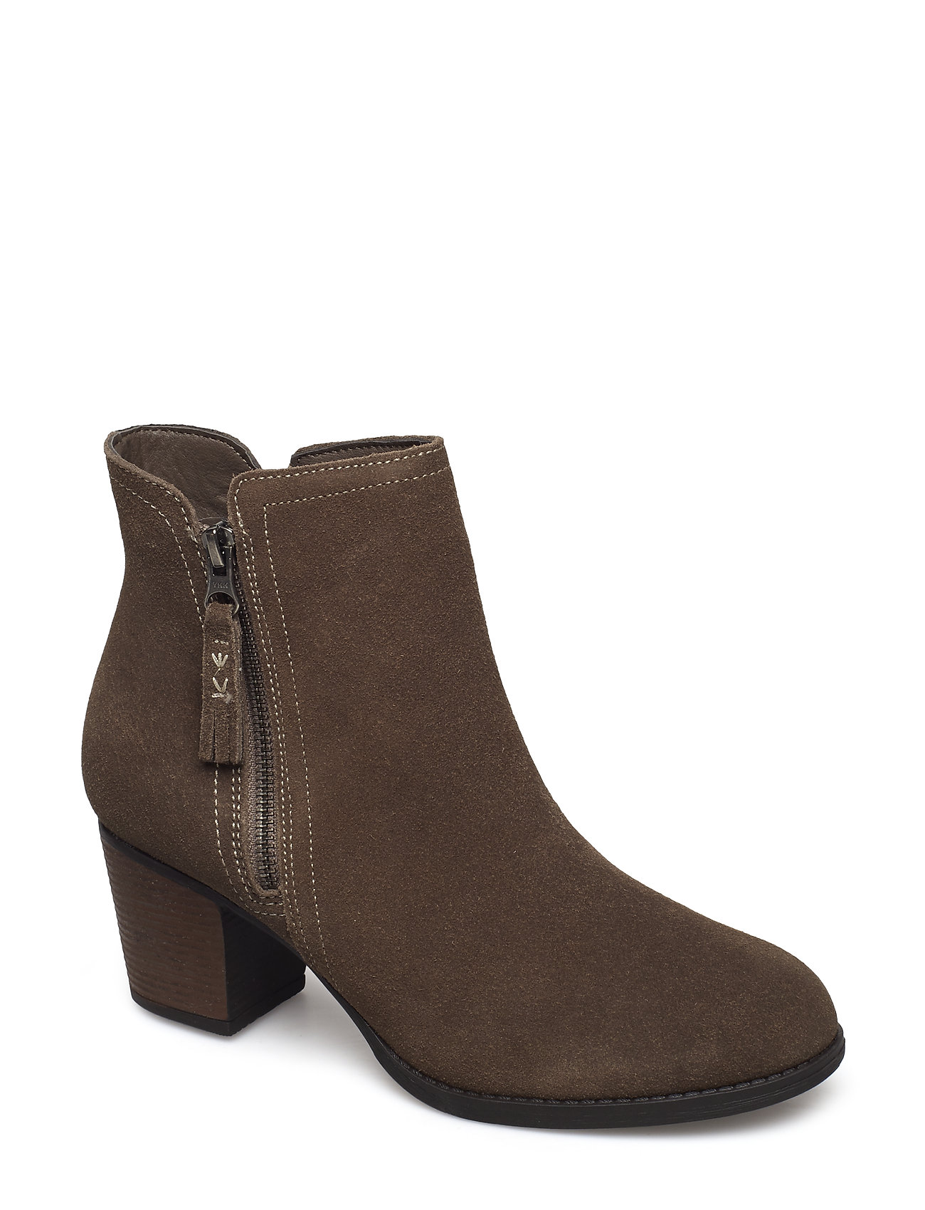 Image of Womens Taxi - Accolade Shoes Boots Ankle Boots Ankle Boot - Heel Brun Skechers (3448148455)
