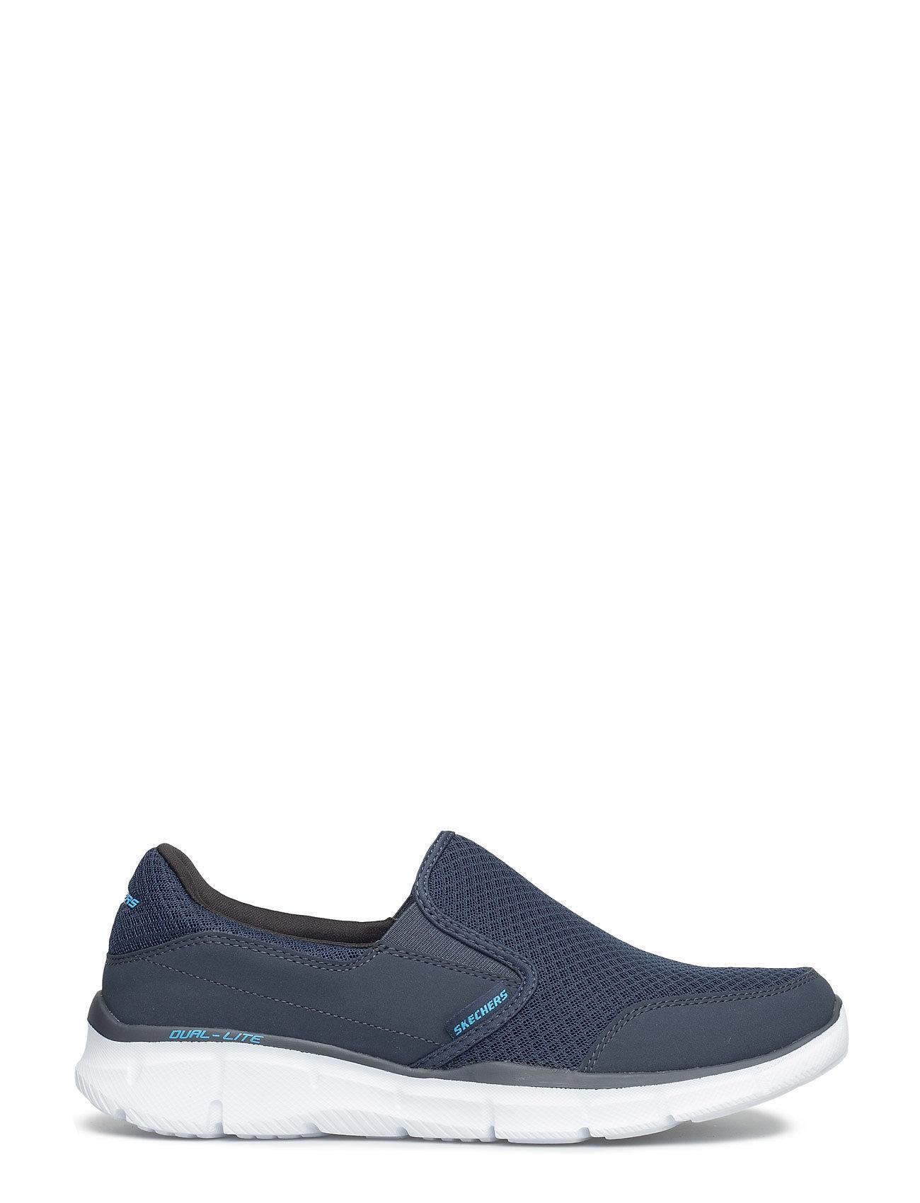 Mens Equalizer Persistent Sneakers Blå Skechers
