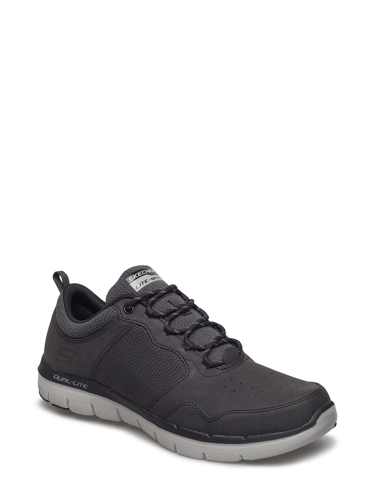 Skechers Mens Flex Advantage 2.0 - Dali Låga Sneakers Svart Skechers