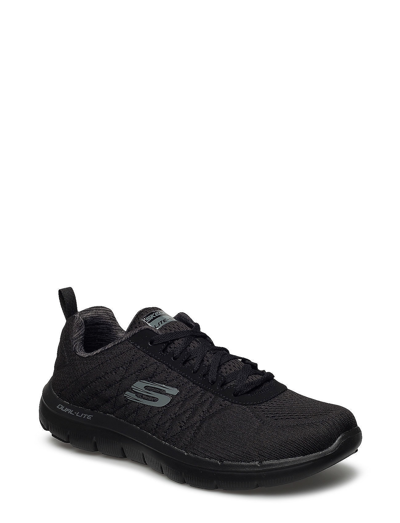 Skechers Mens Flex Advantage 2.0 - Chillston Låga Sneakers Blå Skechers