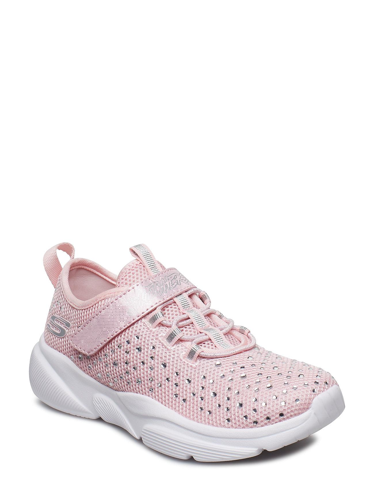 3a858bbd0b5 LTPK LIGHT PINK Skechers Girls Meridian sneakers for børn - Pashion.dk