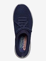 Skechers - Womens Ultra Flex - sneakers med lav ankel - nvy navy - 3