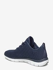 Skechers - Womens Flex Appeal 2.0 - Estates - sneakers med lav ankel - nvy navy - 2