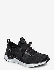 Skechers - Womens Solar Fuse - låga sneakers - bkw black white - 0
