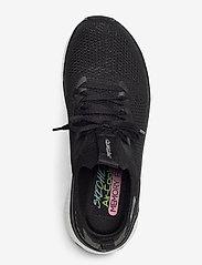 Skechers - Womens Solar Fuse - låga sneakers - bkw black white - 3