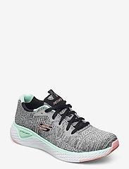 Skechers - Womens Solar Fuse - Brisk Escape - låga sneakers - gymt grey multicolor - 0