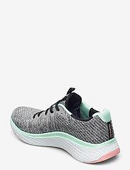 Skechers - Womens Solar Fuse - Brisk Escape - låga sneakers - gymt grey multicolor - 2